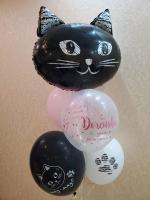 Фонтан кошка