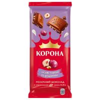 Шоколад корона с орехами и изюмом